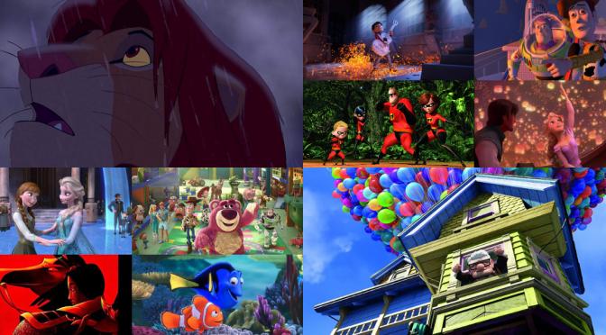 My Ten Favorite Disney Movies