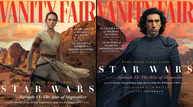 Here's a Fascinating Twist on 'The Rise of Skywalker' Vanity Fair Covers