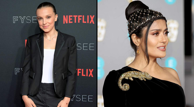 Millie Bobby Brown and Salma Hayek Are Rumored to Star In 'The Eternals'