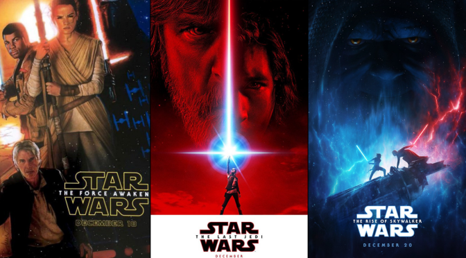 What's Your Favorite Sequel Trilogy Teaser Poster?