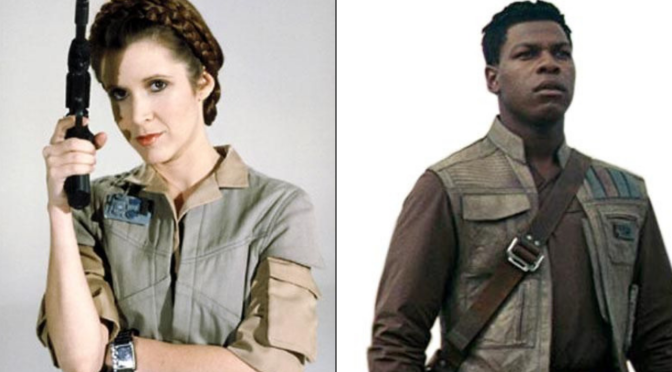 Throwback Friday: I've Discovered a Potential Connection Between Finn and Leia's Outfits