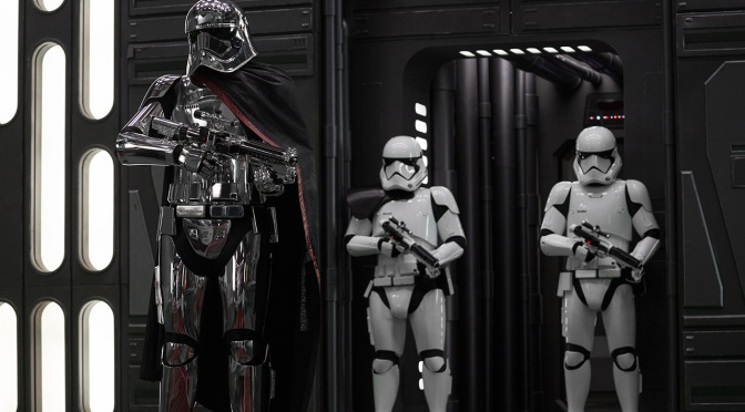 Throwback Friday: I'm Convinced That Captain Phasma Isn't Gone