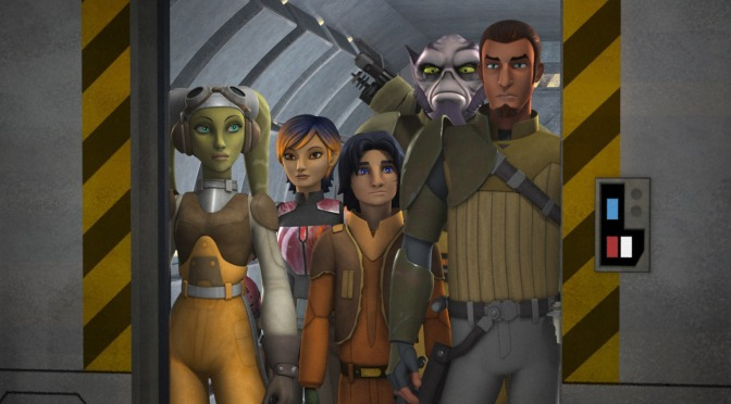 Starting my 'Star Wars: Rebels' Journey