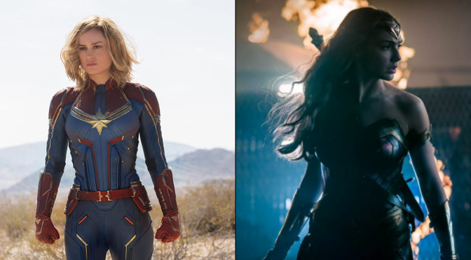 'Captain Marvel' vs. 'Wonder Woman': Which Movie Is Better?