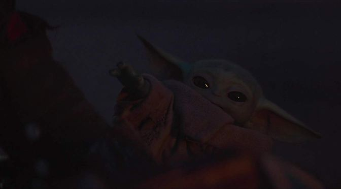 The Cutest Baby Yoda Moment