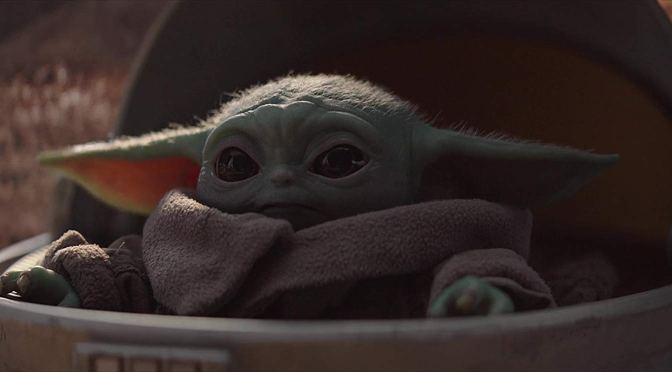 Throwback Friday: The Cutest Baby Yoda Moment