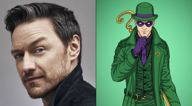 James McAvoy Could've Played The Riddler in the Upcoming Batman Movie!