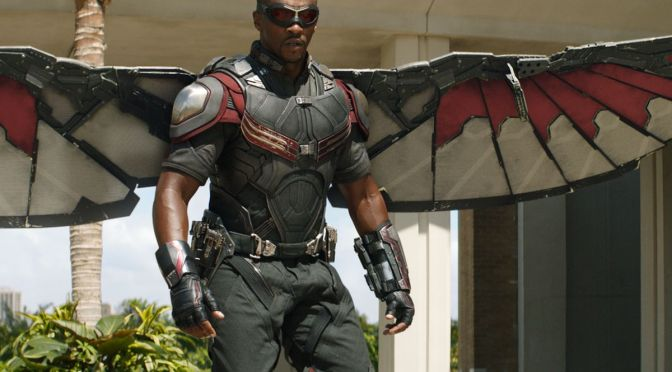 Here's a First Look at Sam Wilson in 'The Falcon and the Winter Soldier'