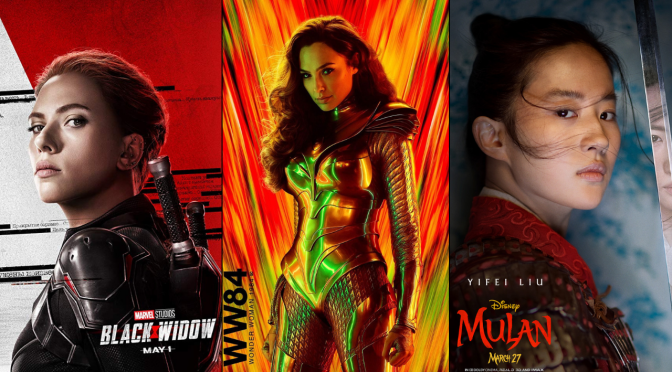 Revisiting the Trailers for 'Black Widow', 'Mulan', and 'Wonder Woman 1984'