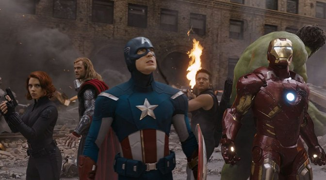Counting Down my 20 Favorite Trailers: #18-'The Avengers'