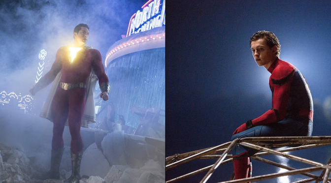 'Shazam' vs. 'Spider-Man: Homecoming': Which movie wins?