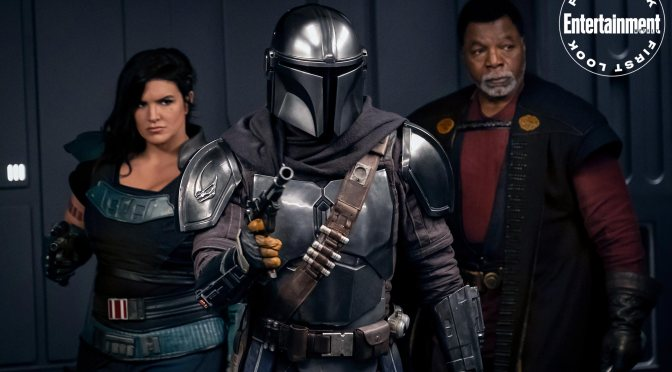A Boring First Look for 'The Mandalorian' Has Arrived