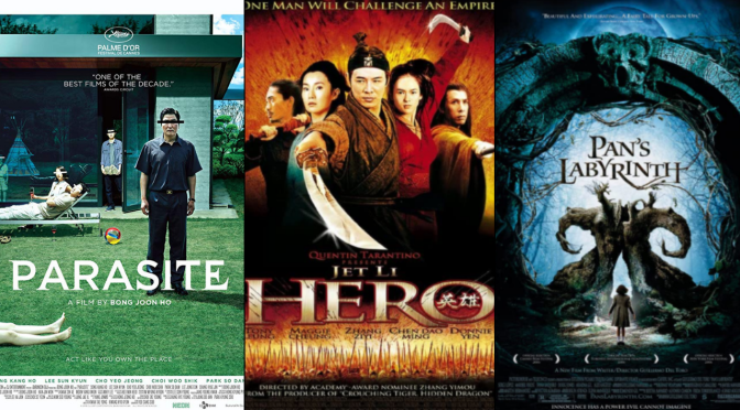 My Three Favorite Foreign Films
